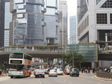 Street Scene in Central, Hong Kong Island, Hong Kong, China, Asia Photographic Print by Amanda Hall