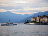 Ferry on Lake Como, Bellagio, Lake Como, Lombardy, Italian Lakes, Italy, Europe Photographic Print by Frank Fell