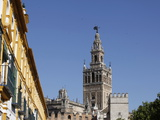 Giralda, the Seville Cathedral Bell Tower, Formerly a Minaret, UNESCO World Heritage Site, Seville, Photographic Print by  Godong