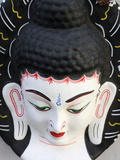 Buddha Head, Paris, France, Europe Photographic Print by  Godong