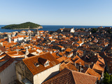 Old Town View, Dubrovnik, UNESCO World Heritage Site, Dubrovnik-Neretva County, Croatia, Europe Photographic Print by Emanuele Ciccomartino