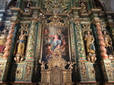 Baroque Reredos, Our Lady of Assumption Church, Cordon, Haute-Savoie, France, Europe Photographic Print by  Godong
