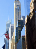 Modern Architecture of Buildings Along 42nd Street in Mid Town Manhattan, New York City, New York,  Photographic Print by Gavin Hellier