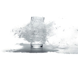 A Shattering Glass of Water Photographic Print by Mark Thiessen