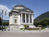 Tempio Voltiano, Como, Lake Como, Lombardy, Italy, Europe Photographic Print by Frank Fell