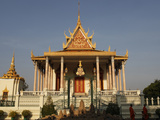 Wat Preah Keo Morakot (Silver Pagoda) (Temple of the Emerald Buddha), Phnom Penh, Cambodia, Indochi Photographic Print by  Godong