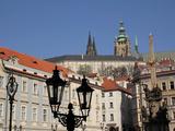 Lesser Town and Prague Castle, UNESCO World Heritage Site, Prague, Czech Republic, Europe Photographic Print by Hans-Peter Merten