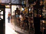Inside the Crown Bar in Belfast Photographic Print by Chris Hill