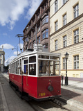 City Tram, Old Town, Wroclaw, Silesia, Poland, Europe Photographic Print by Frank Fell