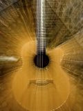 Long Zoom Exposure of a Guitar Photographic Print by Amy & Al White & Petteway