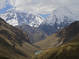 A View of the Himalaya Mountains Along the Chomolhari Trek Photographic Print by Jed Weingarten/National Geographic My Shot