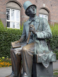 Hans Christian Anderson Monument and City Hall, Copenhagen, Denmark, Scandinavia, Europe Photographic Print by Frank Fell