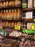 Butchers Shop, Parma, Emilia-Romagna, Italy, Europe Photographie par Frank Fell