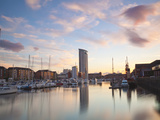 Swansea Marina, West Glamorgan, South Wales, Wales, United Kingdom, Europe Photographic Print by Billy Stock