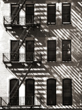 A Brick Building with a Fire Escape Off of Union Square Photographic Print by Keith Barraclough