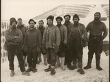 Members of Scott's Expedition Team Photographie par Herbert Ponting