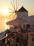 Oia, Santorini, Cyclades Islands, Greek Islands, Greece, Europe Photographic Print by Hans-Peter Merten