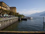 Lakeside, Cadenabbia, Lake Como, Lombardy, Italian Lakes, Italy, Europe Photographic Print by Frank Fell