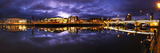 Dusk over the River Lagan in Belfast Photographic Print by Chris Hill