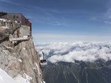 Aiguille Du Midi, Mont Blanc, Haute Savoie, French Alps, France, Europe Photographic Print by Angelo Cavalli