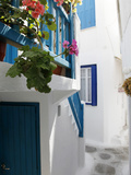 Mykonos Town, Mykonos, Cyclades Islands, Greek Islands, Greece, Europe Photographic Print by Hans-Peter Merten