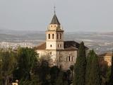 Santa Maria De La Encarnacion (Sta Maria De La Alhambra) Church, Granada, Andalucia, Spain, Europe Photographic Print by  Godong