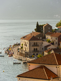 City View of Perast, Bay of Kotor, UNESCO World Heritage Site, Montenegro, Europe Photographic Print by Emanuele Ciccomartino