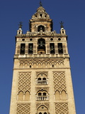 Giralda, the Seville Cathedral Bell Tower, Formerly a Minaret, UNESCO World Heritage Site, Seville, Lámina fotográfica por Godong