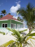 Beach Hut, Bavaro Beach, Punta Cana, Dominican Republic, West Indies, Caribbean, Central America Photographic Print by Frank Fell