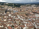 View of Florence from the Dome of Filippo Brunelleschi, Florence, UNESCO World Heritage Site, Tusca Photographic Print by  Godong