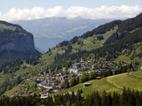 Wengen, Bernese Oberland, Swiss Alps, Switzerland, Europe Photographic Print by Hans-Peter Merten