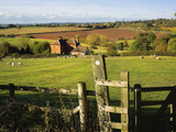Vew from the Monarchs Way Long Distance Footpath, Tardebigge, Worcestershire, England, United Kingd Photographic Print by David Hughes