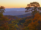 Autumn Scene in the Blue Ridge Mountains Photographic Print by Amy & Al White & Petteway