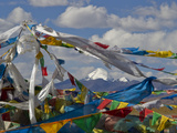 Mount Kailas Framed by Buddhist Prayer Flags Photographic Print by Jed Weingarten/National Geographic My Shot