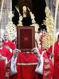 Palm Sunday Procession, Seville, Andalucia, Spain, Europe Photographic Print by  Godong