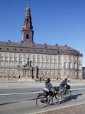 Christiansborg Palace, Copenhagen, Denmark, Scandinavia, Europe Fotoprint van Frank Fell