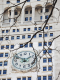 The Clock on the Metropolitan Life Tower on Madison Square Park Photographic Print by Keith Barraclough