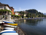 Boat Harbour and Lake, Bellagio, Lake Como, Lombardy, Italian Lakes, Italy, Europe Photographic Print by Frank Fell