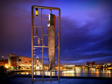 Sculpture of the Titanic at Titanic Quarter in Belfast Photographic Print by Chris Hill