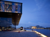 The Play House at Dusk, Copenhagen, Denmark, Scandinavia, Europe Photographic Print by Frank Fell