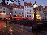 Nyhavn at Dusk, Copenhagen, Denmark, Scandinavia, Europe Photographic Print by Frank Fell