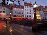 Nyhavn at Dusk, Copenhagen, Denmark, Scandinavia, Europe Photographic Print by Frank Fell