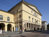 Theatre Regio, Parma, Emilia Romagna, Italy, Europe Fotoprint van Frank Fell