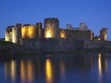 Caerphilly Castle, Mid Glamorgan, Wales, United Kingdom, Europe Photographic Print by Billy Stock