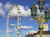 London Eye, London, England, United Kingdom, Europe Photographic Print by Jeremy Lightfoot