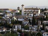 View of the Albaicin, Granada, Andalucia, Spain, Europe Fotodruck von  Godong