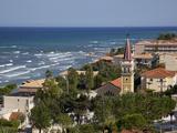 View over Town, Argassi, Zante, Ionian Islands, Greek Islands, Greece, Europe Fotografie-Druck von Frank Fell