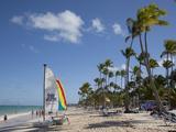 Bavaro Beach, Punta Cana, Dominican Republic, West Indies, Caribbean, Central America Fotografie-Druck von Frank Fell