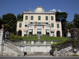 Lakeside Villa, Cadenabbia, Lake Como, Lombardy, Italian Lakes, Italy, Europe Photographic Print by Frank Fell
