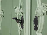 Ornate Door Handles, Old Town, Wroclaw, Silesia, Poland, Europe Photographic Print by Frank Fell